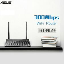 ASUS Wireless Router / Repeater / Extender WiFi N With 4 Ethernet Ports RT-N12+