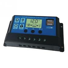 30A 12V / 24V LCD Intelligence Auto Regulate PWM Solar Battery Charge Controller