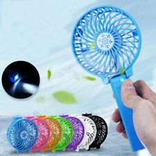 Mini Handheld Fan Cooler Cooling USB LED Portable Rechargeable Air Conditioner
