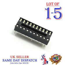 DIP20 / DIL20 IC Socket PCB Standard Connnector 20 Pin Adapter