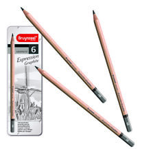 Bruynzeel Expression Graphite Drawing Sketching Tin Sets of 6 or 12 Pencils