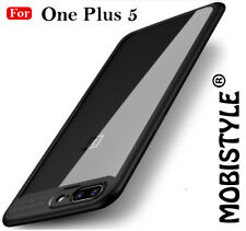 ULTRA THIN Crystal Clear TPU Bumper Hard Back Cover For One plus 5 / One + 5