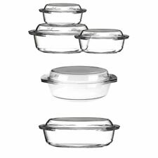 Glass Casserole Dishes with Lids Dishwasher Safe ideal for casseroles pasta
