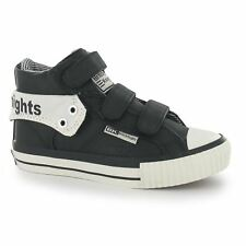 British Knights Roco Trainers Juniors Black/White Sneakers Shoes Footwear