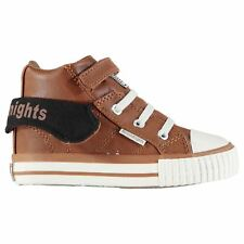 British Knights Roco Trainers Infants Chestnut/Black Sneakers Shoes Footwear