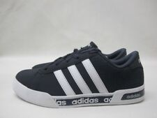 Junior Adidas Daily Mono Navy White Sport Shoes Lace Up Boys Trainers