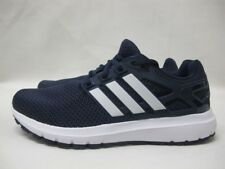 Mens Adidas Energy Cloud Sport Shoes Lace Up Casual Navy White Trainers