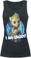 Guardians Of The Galaxy 2 - I Am Groot Top donna nero