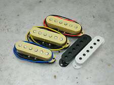 Stratocaster 'Hard Rock' Single Coil Electric Guitar Pickups for Squier / Strat.
