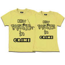 geefashion couple t-shirts ( partner in crime t shirts)