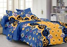 Story@Home Cotton Abstract Double Bedsheet(1Double Bedsheet,2 Pillow Covers)-ISP
