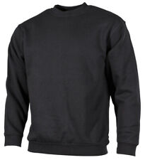 Sweat homme noir pull pullover pull manches longues d'HIVER NEUF J SOLDES