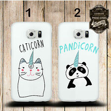 "cover cellulare, per cellulare Samsung Galaxy CUSTODIA "" PANDICORN & caticorn """