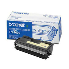 AUTENTICO BROTHER TN-7600 Nero Stampante Laser Cartuccia del toner -