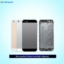 Apple iPhone 5S METAL Full Body Housing REPLACEMENT☆SILVER☆GOLD☆BLACK