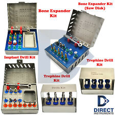Dental Implant Trephines Bur Drill Stopper Sinus Lift Compression Bone Expander