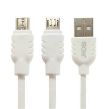Micro USB Charging, Data Transfer, Data Cable For Huawei Y625  -Milky White