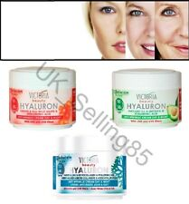Victoria Beauty ANTI AGING Face Day & Night Cream HUALURON 50ml with UVA & UVB