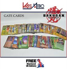 Bakugan Battle Brawlers Gate Card Playing Launch Trading Cards (Pick your Card)