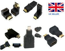 HDMI MICRO MINI ANGOLATURA a destra 270 180 90 Degree HD ADATTATORE CONNETTORE