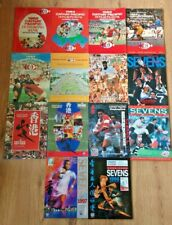Hong Kong Sevens Rugby Union Programmes 1982 - 1998