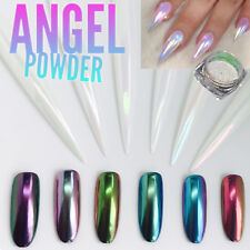 ANGEL POWDER 6 Colors Changing Nail Art Chrome Pigment Mirror Effect Chameleon