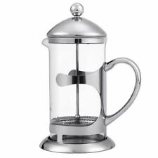 Homdox French Press Coffee Kettle Maker 1000ML Stainless Steel Heat Resistant Gl