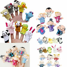 Set of Nursery Rhyme Plush Hand Puppets Finger Soft Toy Baby Children Kids Gift