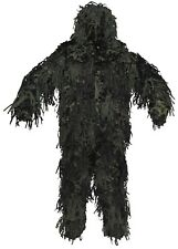 3-piezas CAMUFLAJE GHILLIE SUIT PAINTBALL Sniper Woodland CAZA 3d BODY