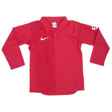 Nike Boys Long Sleeved Sports Top Red Nike Fit 6 Years to 15 Years