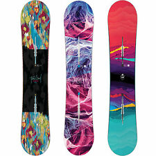 BURTON FEELGOOD FLYING V sedia a dondolo Damen All Mountain Snowboard 2016-2018