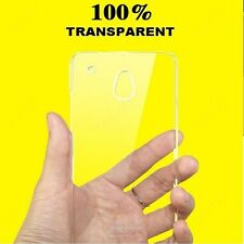 Heartly Imak Crystal Clear Transparent Ultra Thin Back Case Cover For HTC One ME