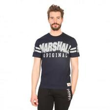 Marshall Original Vêtements Homme T-shirts Bleu 81202 moda1