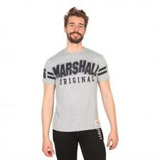 Marshall Original Vêtements Homme T-shirts Gris 81201 moda1