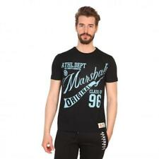 Marshall Original Vêtements Homme T-shirts Noir 81200 moda1