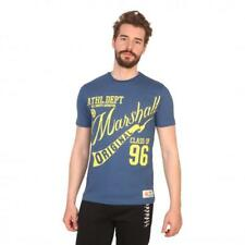 Marshall Original Vêtements Homme T-shirts Bleu 81198 moda1