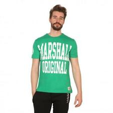 Marshall Original Vêtements Homme T-shirts Vert 81196 moda1