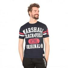 Marshall Original Vêtements Homme T-shirts Bleu 81186 moda1