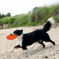TRIXIE FLYING DISC FRISBEE DOG PUP FLOATABLE THROW CATCH OUTDOOR TOY 18/22CM