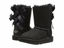Children's Shoes UGG Toddler Bailey Bow 1017394T Black *New*
