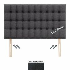 Double, Single ,King Size. Cubes  Headboard in Chennile Fabric 30'' Height.