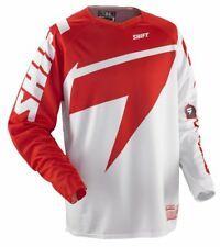 SHIFT FACTION SKYLAB JERSEY MOTOCROSS ADULTS XL EXTRA LARGE RED AND WHITE NEW