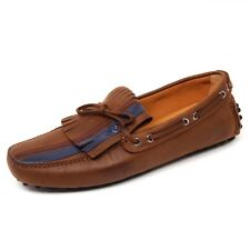 D0676 mocassino uomo CAR SHOE scarpa marrone loafer shoe man