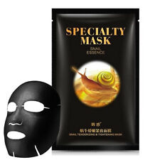Snail Speciality Black Face Mask Essence Extract Facial Tender Tightening Masks