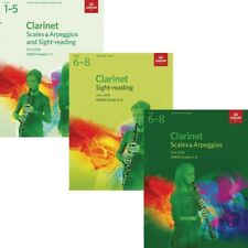 ABRSM Clarinet Scales & Arpeggios / Sight-Reading Books