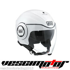 Casco AGV Fluid Pearl White