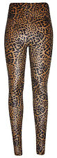 Thermoleggins Thermo Leggins TIGER LEOPARD LOOK Nicki Thermohose S M L XL NEU