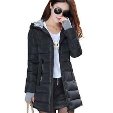 2017 women winter hooded warm coat slim plus size candy color cotton padded...
