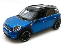 Maisto Mini Countryman Sp.Edit. Die-Cast Scala 1:24 Col.Blu/Argento Mod.Escl Col