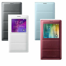 Original Samsung Galaxy Note 4 S-View EF-CN910 oder Wallet EF-WN910 Case Cover